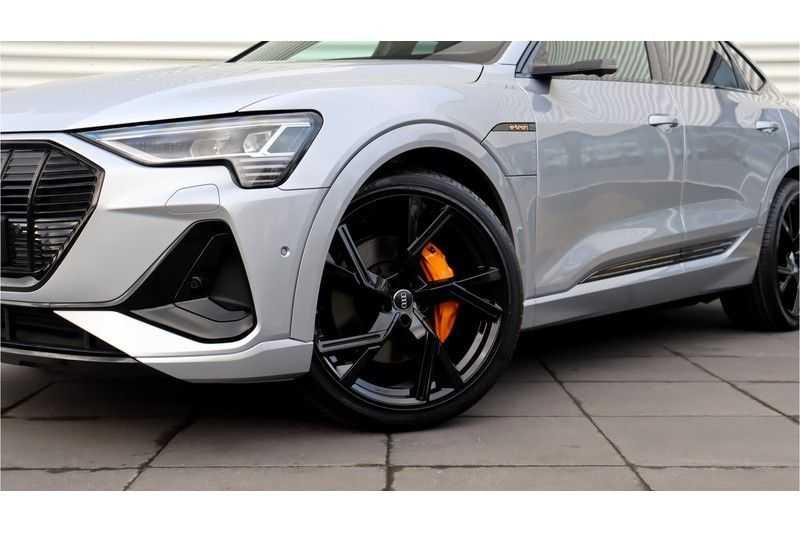 Audi e-tron Sportback 55 quattro S line excl. BTW Panoramadak, S Sportstoelen, Head Up display afbeelding 10