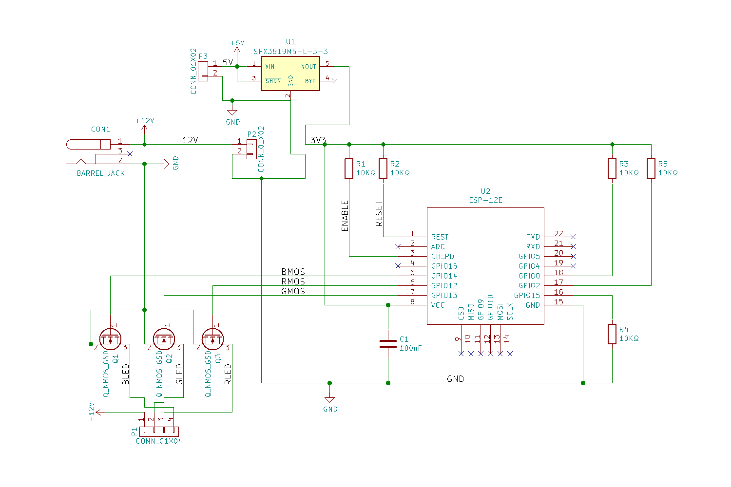 The controller schematic.