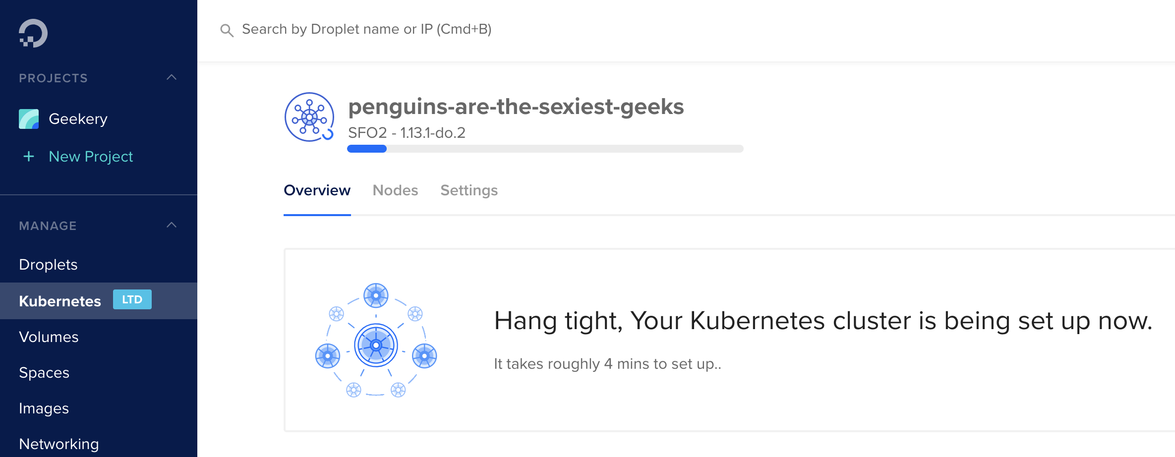 Kubernetes on Digital Ocean Screenshot #5