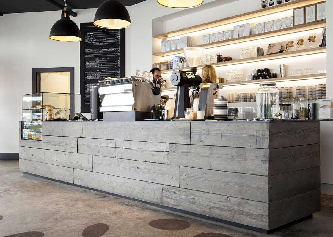Established Coffee Interior