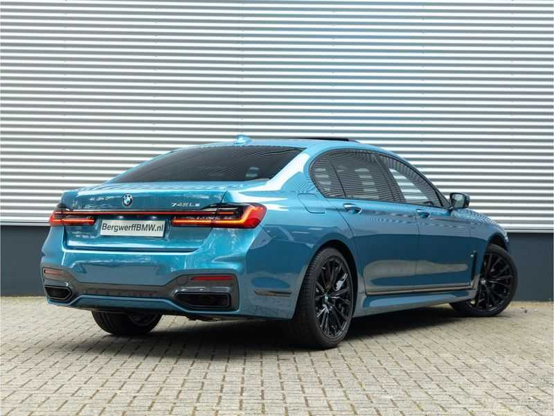 BMW 7 Serie 745Le xDrive Individual ''Maldives Blue'' - Full Option afbeelding 5