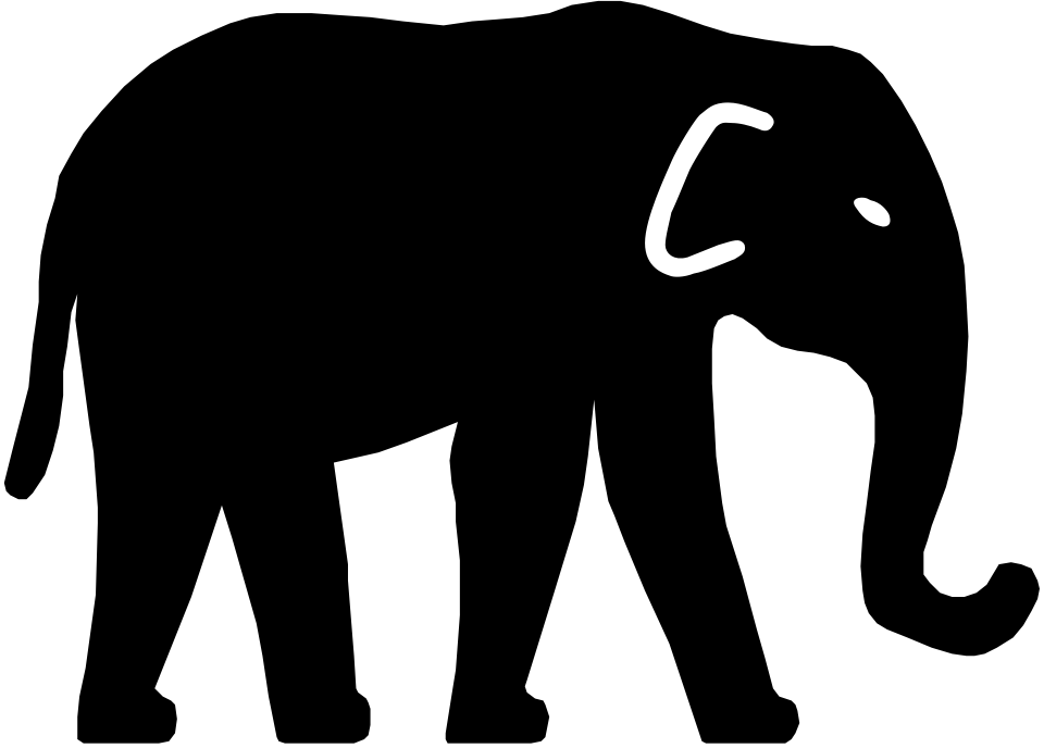 Pictogram of an elephant