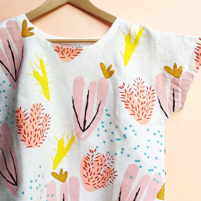 Tee-shirt à motifs cactus
