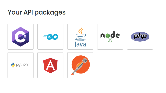 Generated SDK packages are automatically synced with your data model