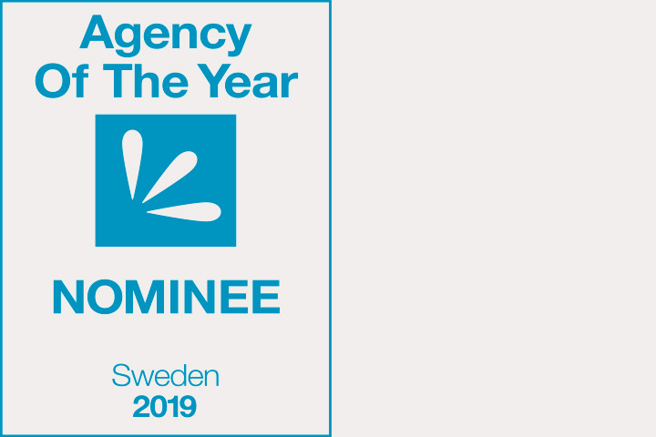Petra and Pyramid both nominated for Agency of the Year 2019