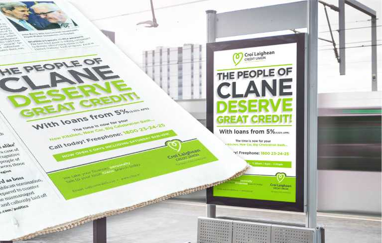 clcu print and digital display advertisements