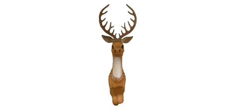 Large Illuminated Reindeer photo