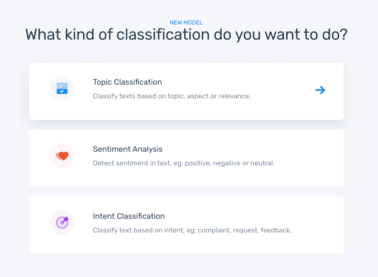 2 kind of classification topic