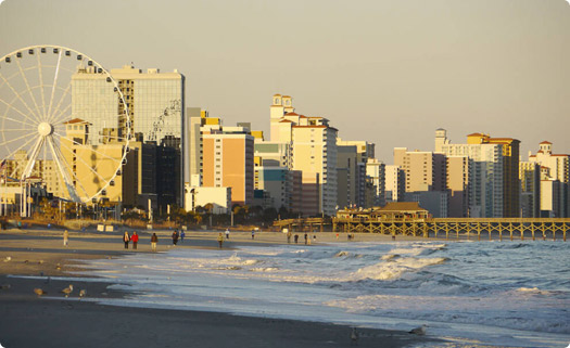 Myrtle Beach, South Carolina Skyline