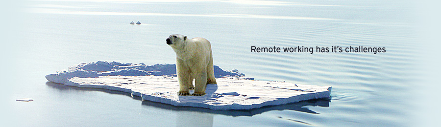 Remotely, yours