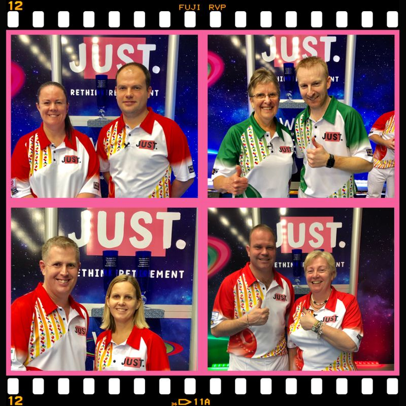 REIGNING CHAMPIONS AND THREE FORMER TITLE WINNING SKIPS  STAY IN THE FRAME FOR THE MIXED PAIRS TITLE