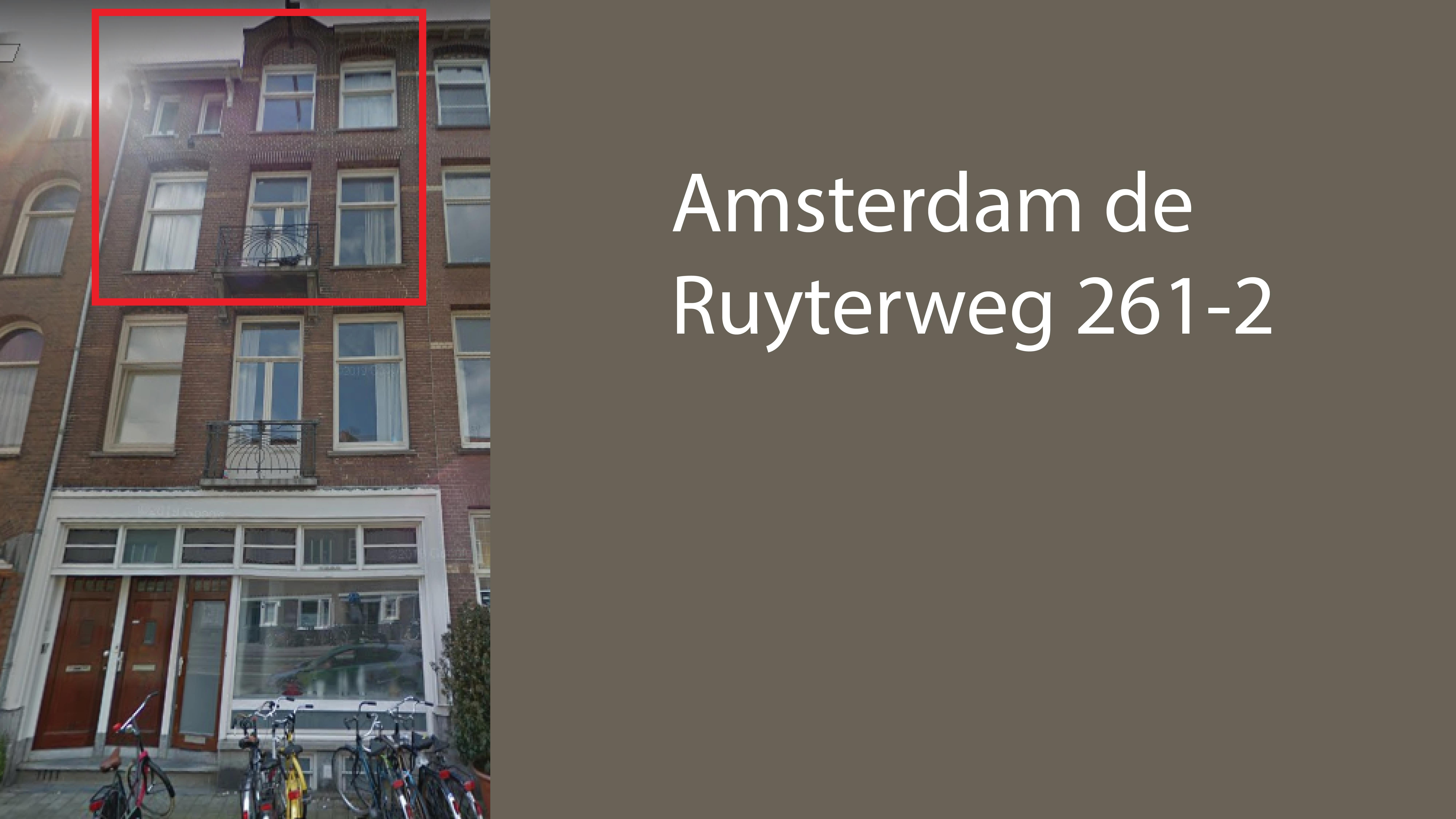 Amsterdam de Ruyterweg 261-2