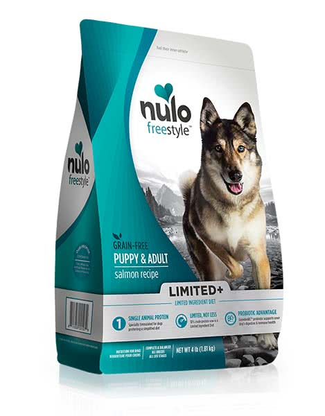 Image of a Nulo Dog Food Packaging