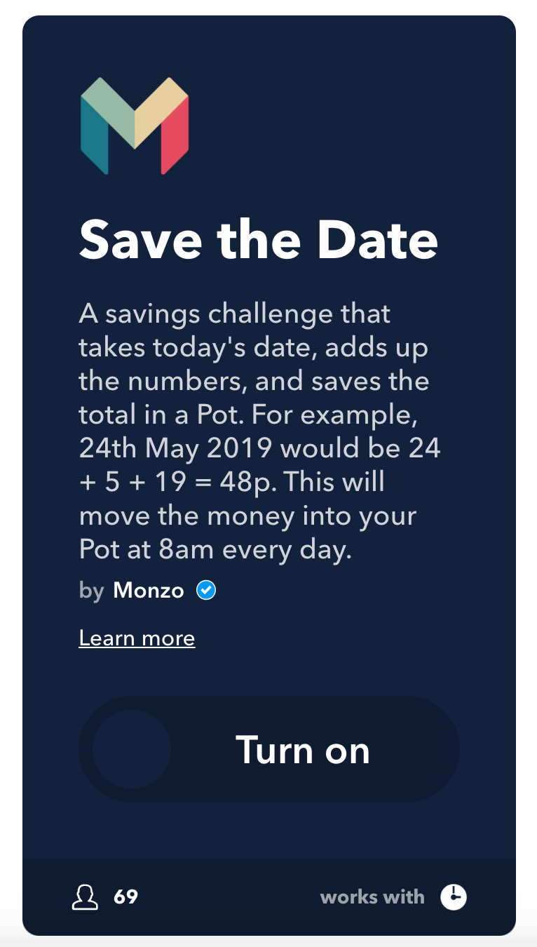 Save the Date Challenge