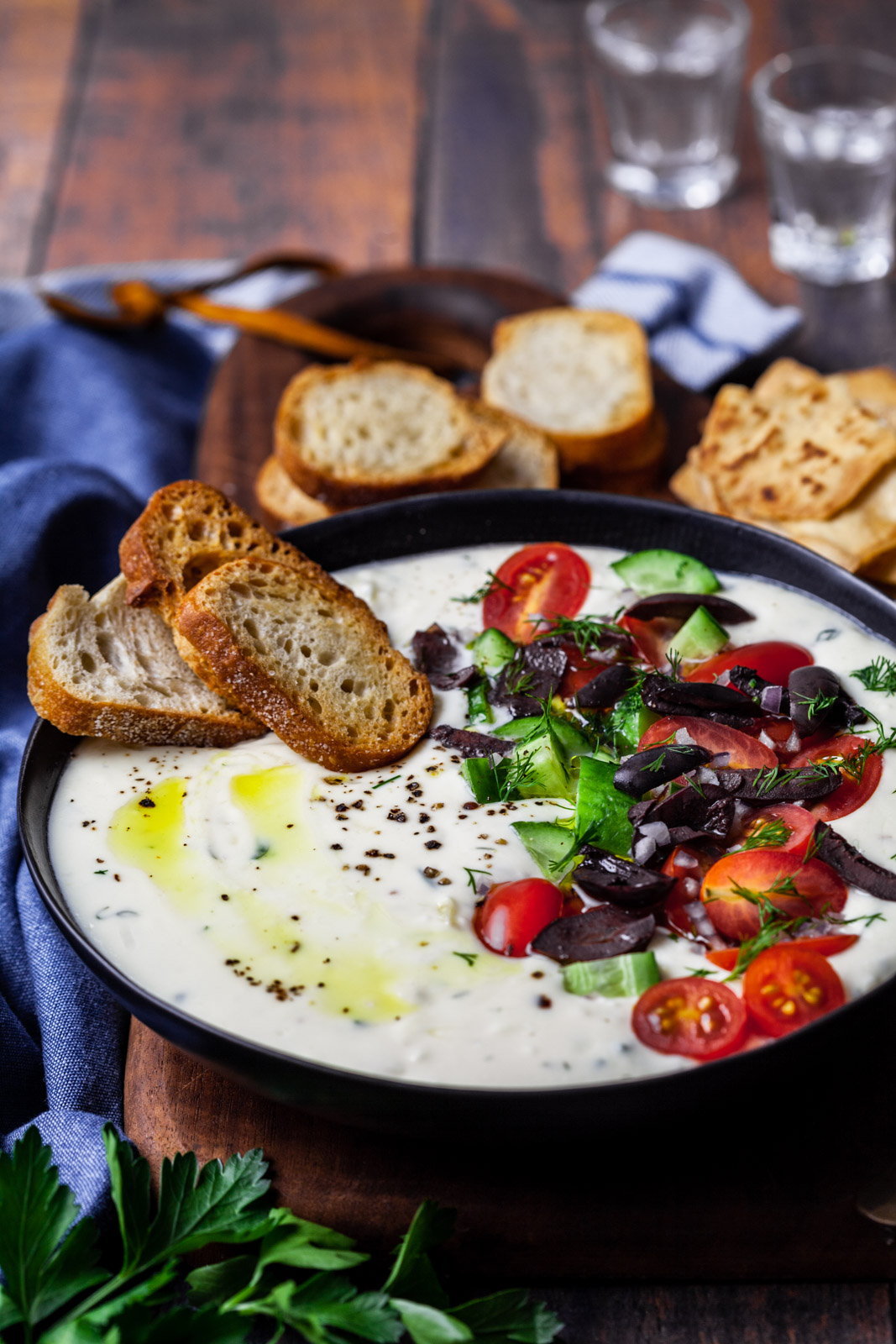 Greek Cheese Fondue
