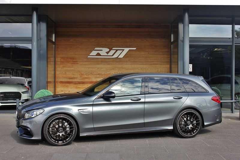 Mercedes-Benz C-Klasse C63 AMG 4.0 V8 Estate 476pk! **360°Camera/Burmester/Spoorassistent** afbeelding 11