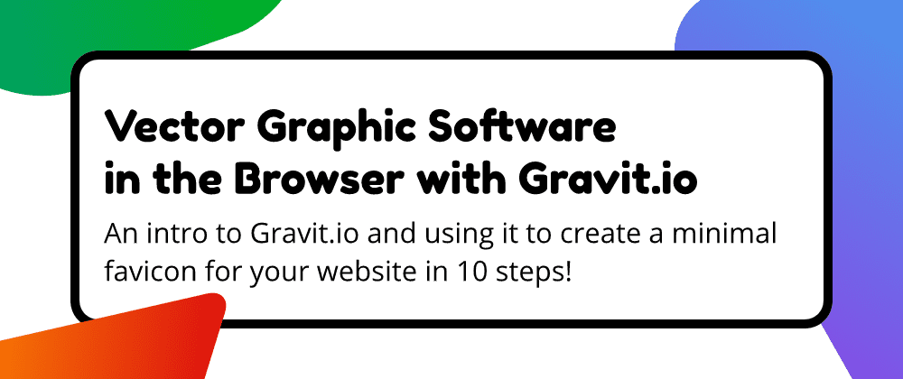 Vector Graphic Software in the Browser with Gravit.io