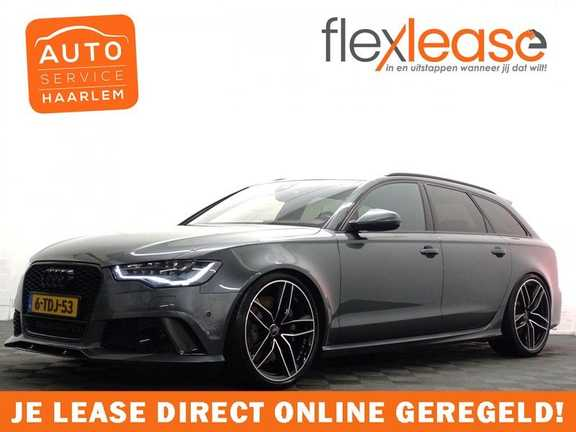 Audi A6 Avant 4.0 TFSI RS6 Quattro Performance 605pk Aut- B&O, Nightvision, Head-up, Orig NL Auto!