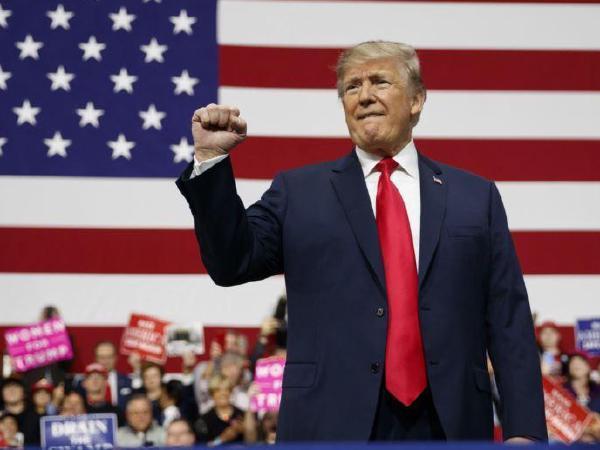 미북 정상회담 앞두고, 트럼프 지지율 상승
