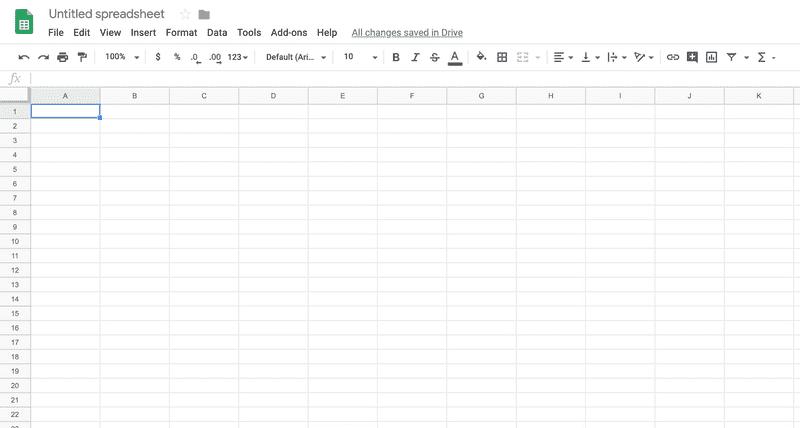 Empty Sheet