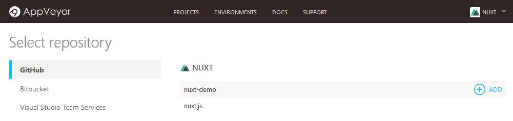 Appveyor Builder Server Enable