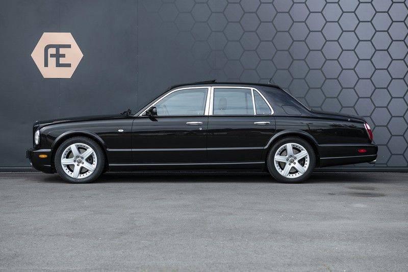 Bentley Arnage 6.8 V8 T Mulliner Black badge + Mulliner + Recent onderhoud afbeelding 5