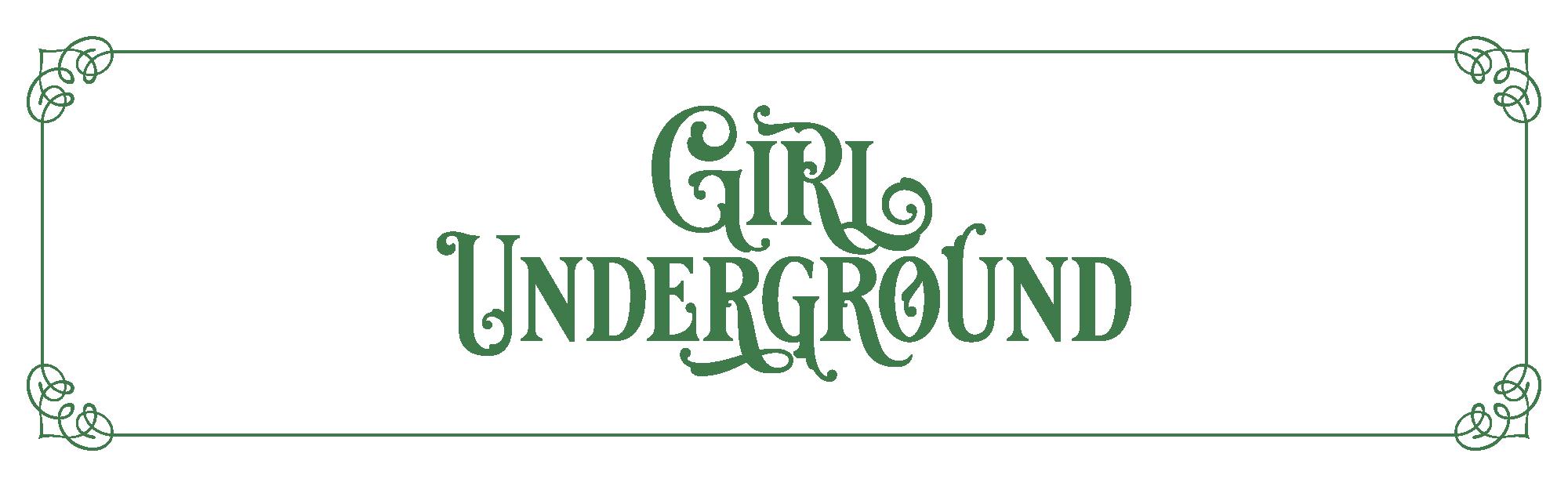 Das Logo des Rollenspiels 'Girl Underground'
