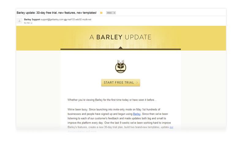 Barley Chrome Email
