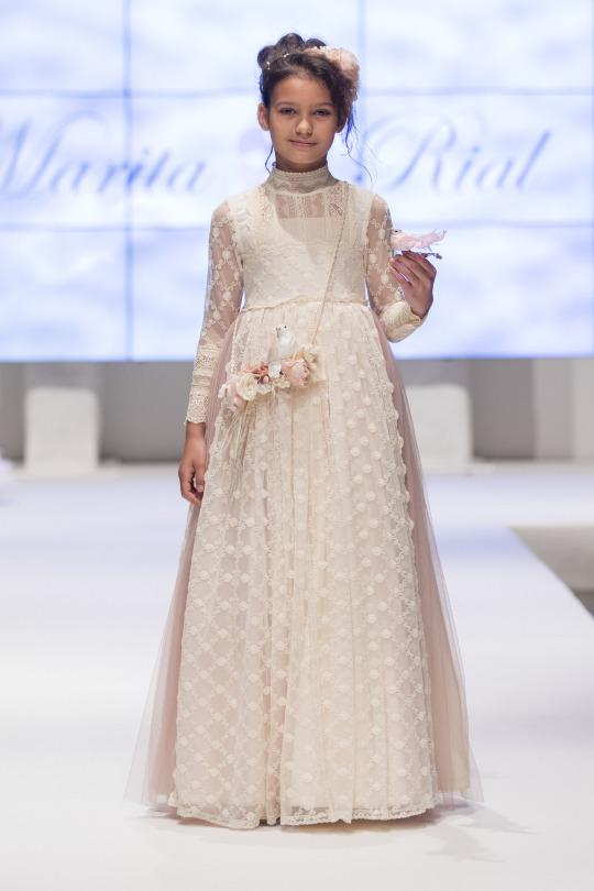 vestido comunion marita rial
