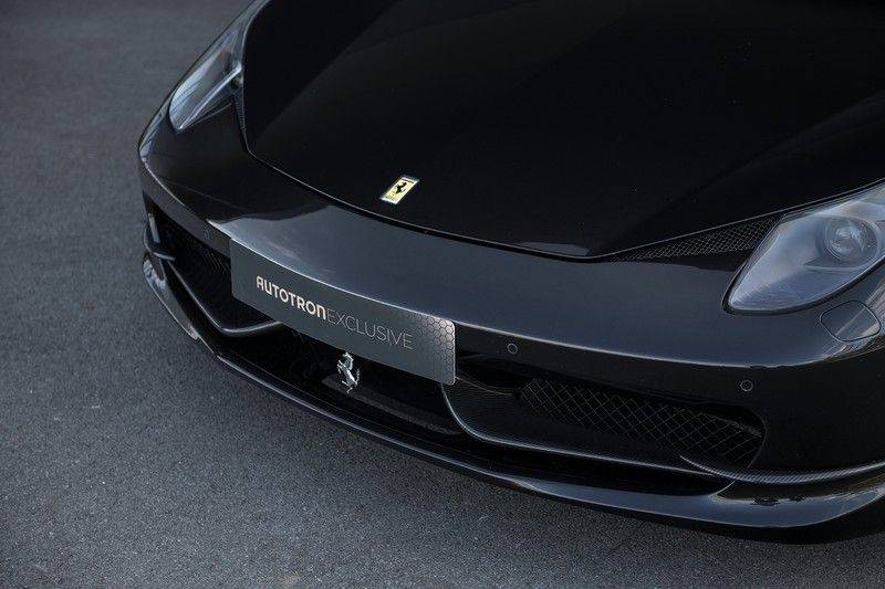 Ferrari 458 4.5 V8 Italia New Power Garantie T/M 12-03-2022, Carbon Sport Seats, Custom Exhaust, Carbon exterieurdelen afbeelding 8