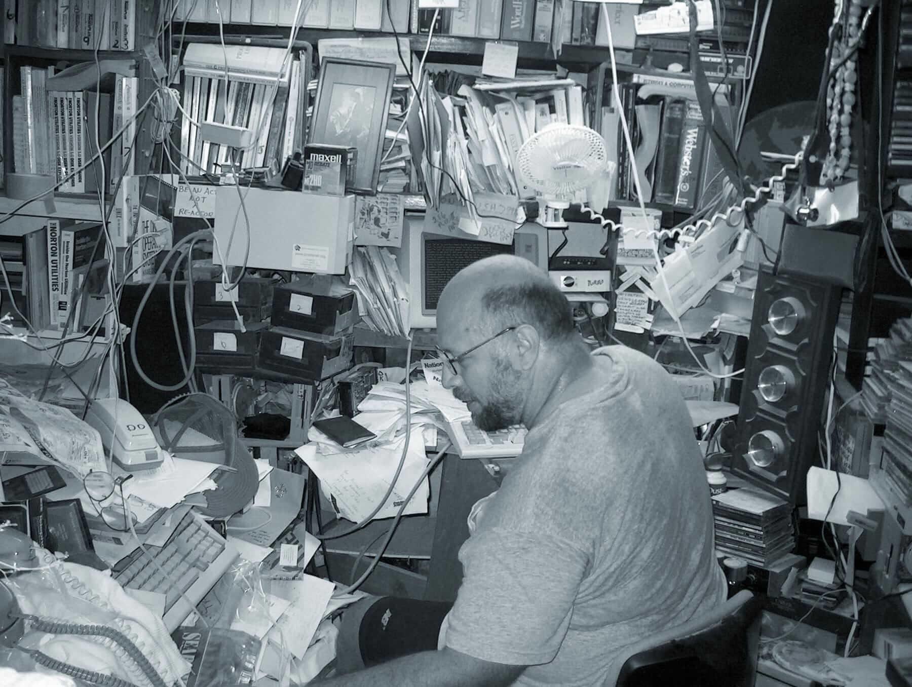 Майкл Стерн Харт — автор проекта «Гутенберг», первой в мире библиотеки доступных электронных книг. Источник: brewster.kahle.org