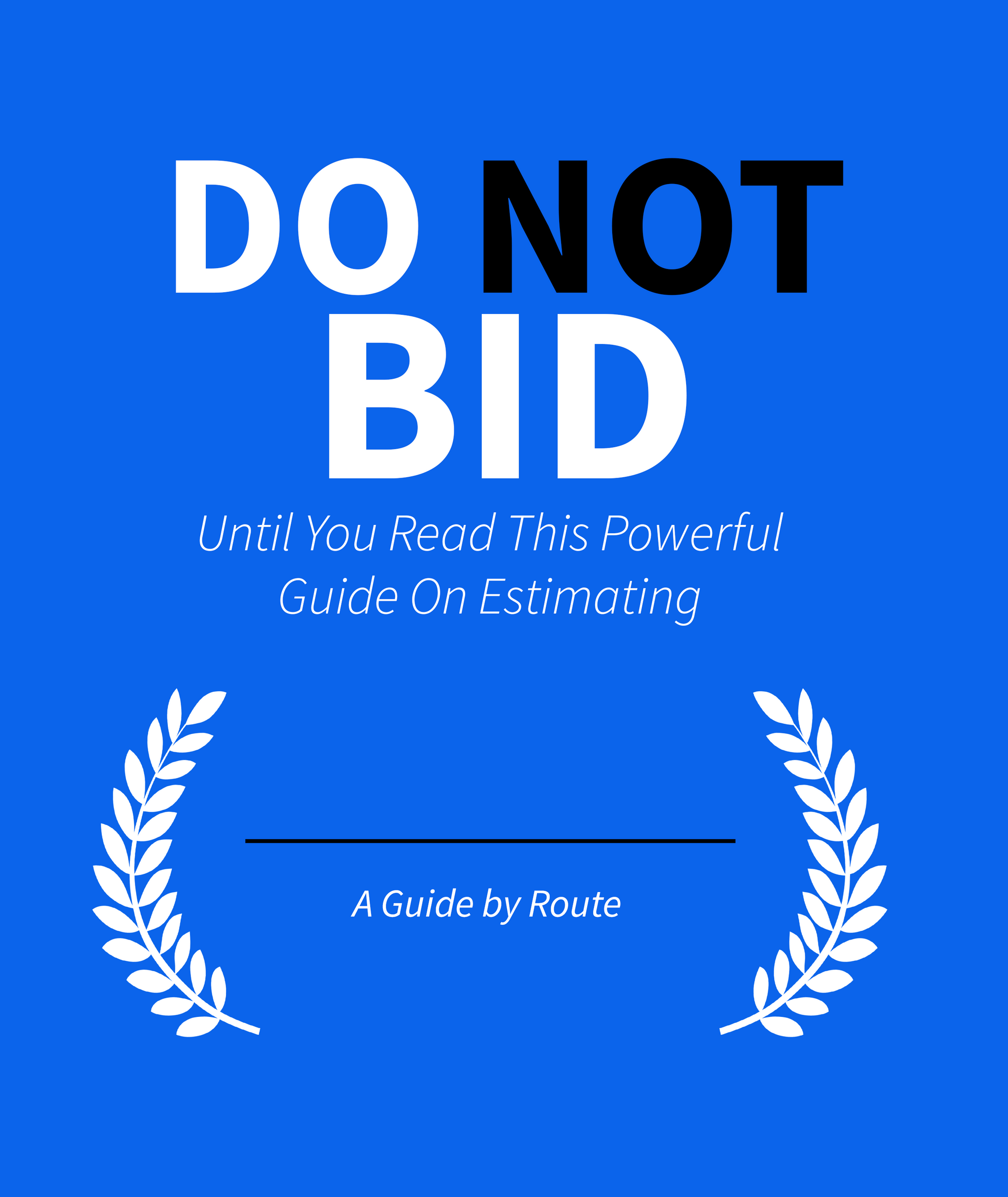 bidding guide cover