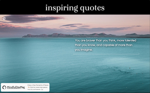 inner peace relax with inspiring quotes