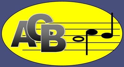 The logo for Aberdeen Concert Band, a music charity and teaching band