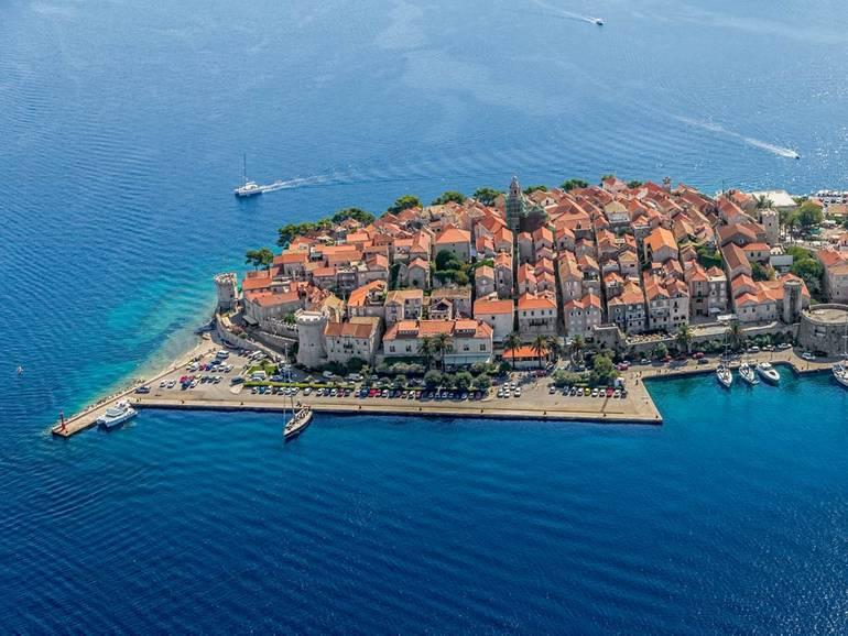 A Cultural Croatia Sailing Stop in Korcula Town