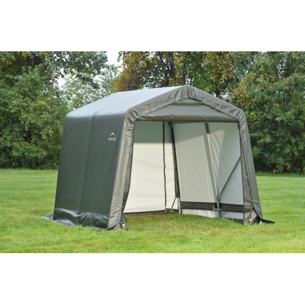 Peak or Gable Style Car Shelters | Shelter Logic Temporary ...