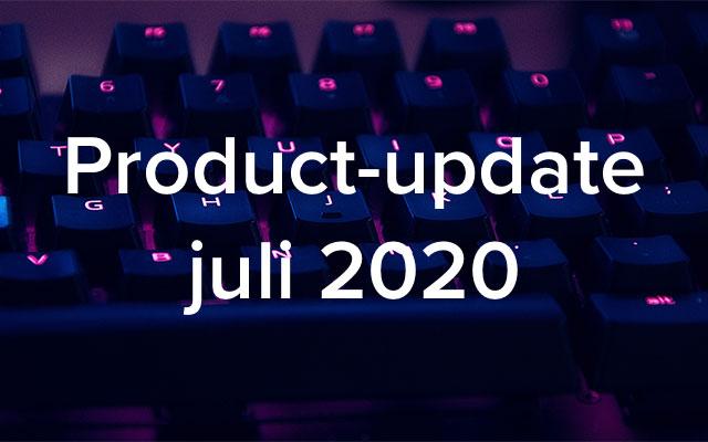 Product-update juli 2020: globaal zoeken gearriveerd, CAPP Agile-integratie en meer