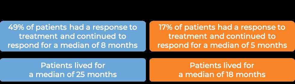 Results Herceptin + Paclitaxel vs Paclitaxel alone (diagram)