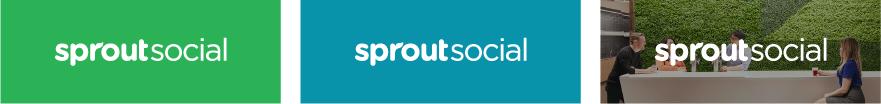 Wordmark logo with background