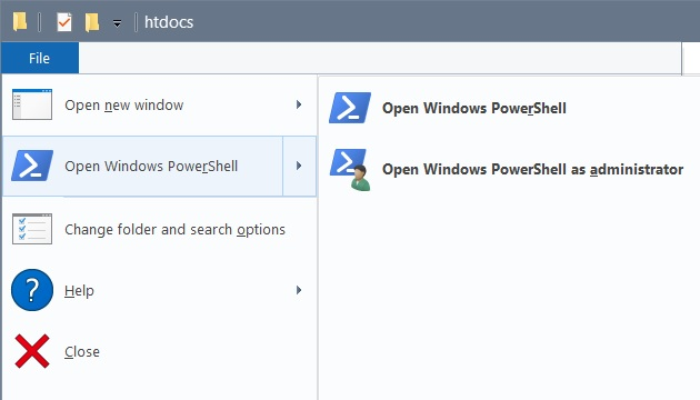 How to change extension of multiple files with PowerShell