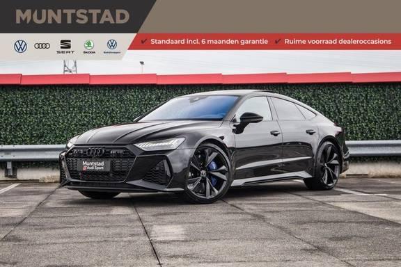 Audi RS7 Sportback 4.0 TFSI 600 pk quattro   Dynamische vierwielbesturing   Keramische remschrijven   RS-Sport uitlaatsysteem   Dynamic pakket plus   Laser LED Matrix   Stoelventilatie   Assistentiepakket City & Tour