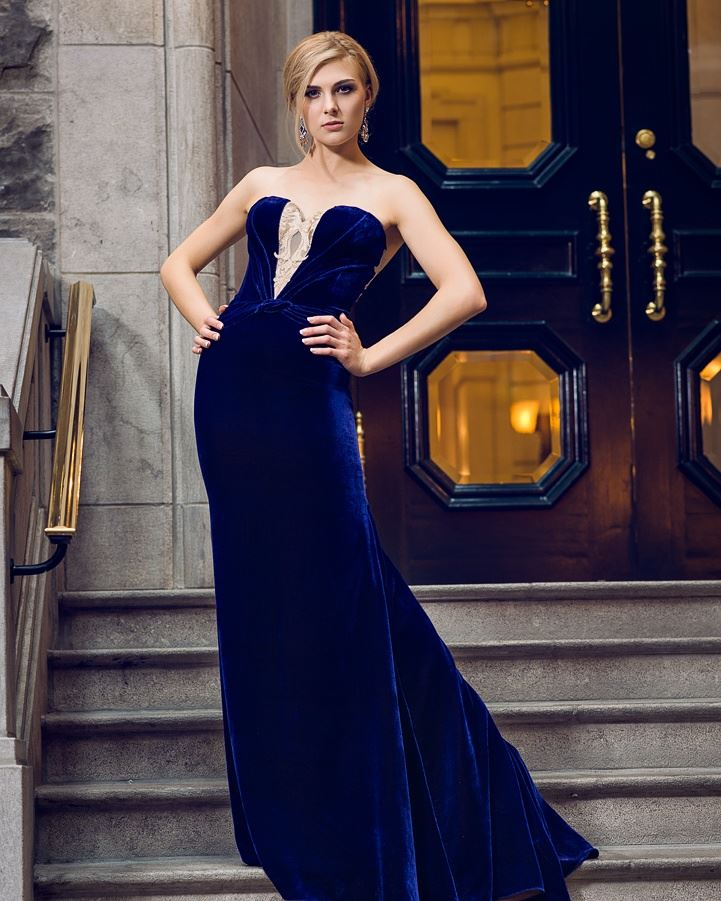 evening gown montreal custom made lilia haute couture