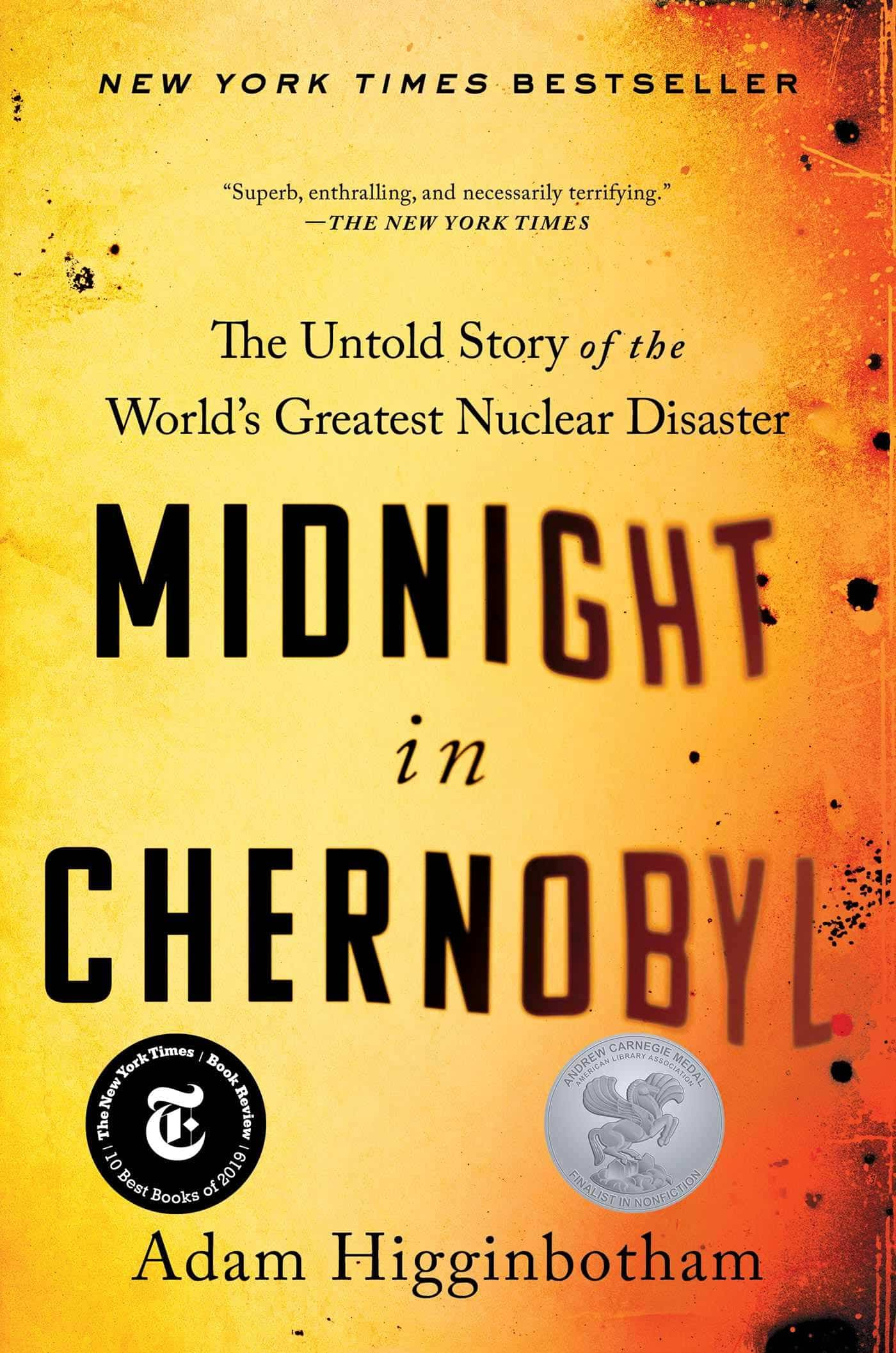 The cover of Midnight in Chernobyl