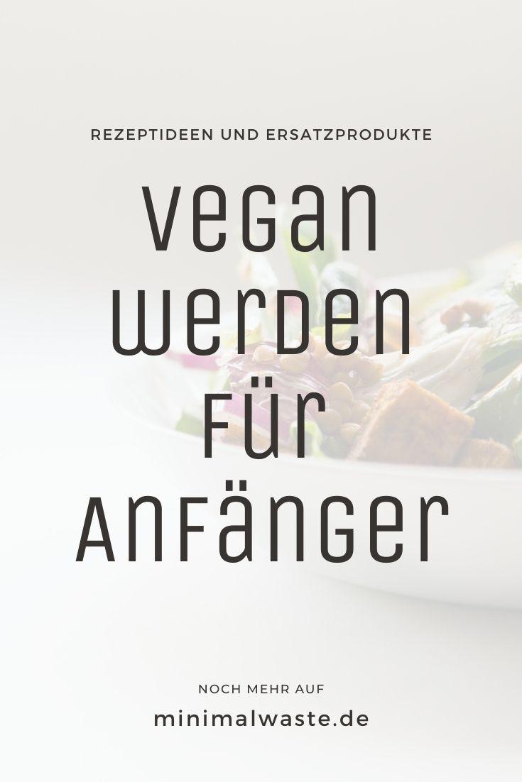 Pinterest Cover zu 'Vegan für Anfänger: 5 Tipps für den Einstieg'