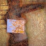 """Evelyn Müürsepp, Estonia. """"No:5 Giid/Guide"""" 2000. MDF, acrylic, 90x100cm"""