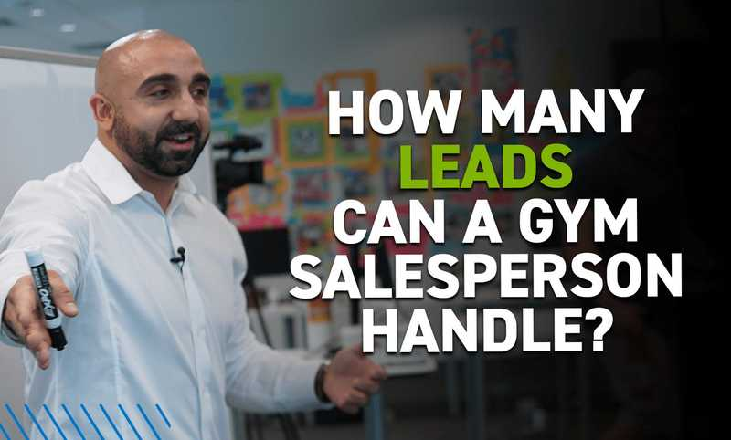 how many leads can a gym salesperson handle v2