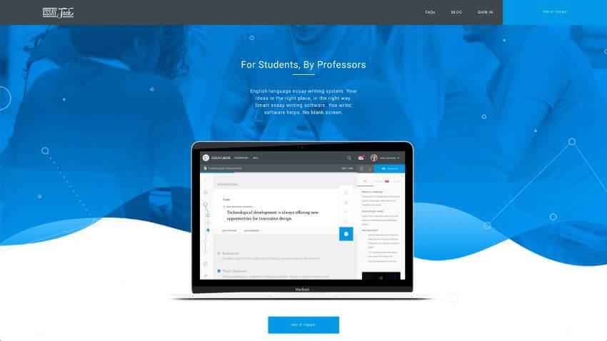 EssayJack Homepage