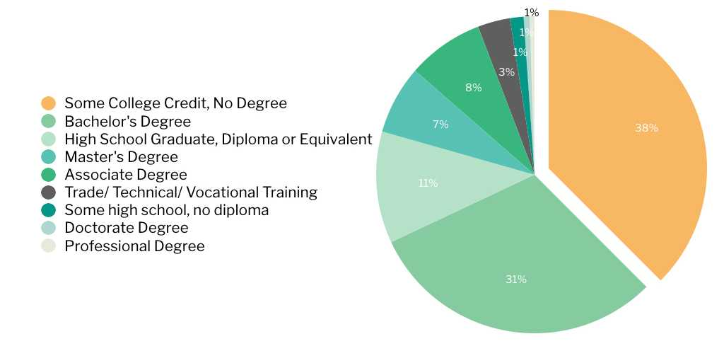 Student Education Background at Application