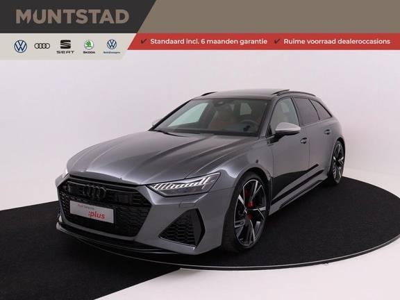 Audi A6 Avant RS 6 TFSI quattro | 600PK | Dynamic pakket 280 km/h | Head-Up | 22'' | HD Matrix Laser | Panoramadak