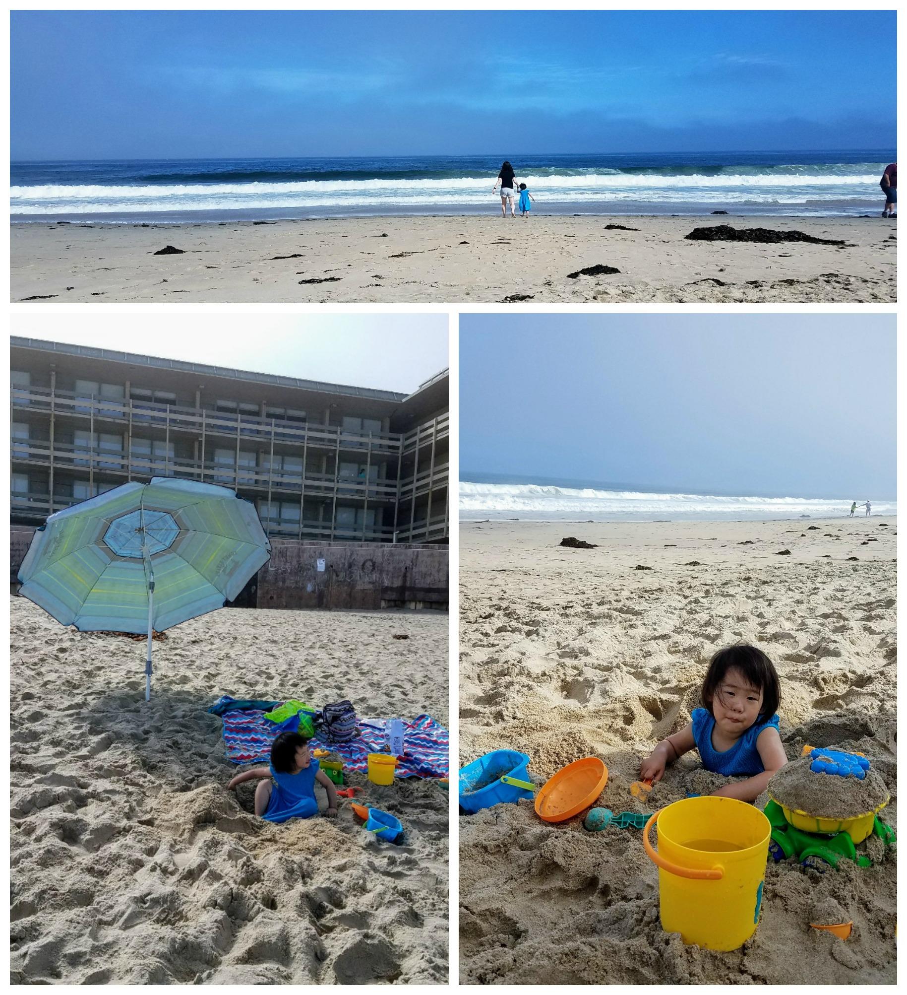 둘째 날도 모래 놀이;;;